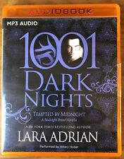 Lara Adrian TEMPTED BY MIDNIGHT Midnight Breed #12.5 Unabridged Audiobook MP3-CD
