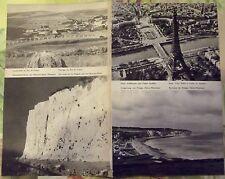1962 Pas de calais,Mers les Bains,Paris tour Eiffel,Dieppe art print