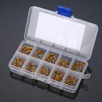 300pcs 10 Value 50V 10pF~100nF Ceramic Capacitors Assortment Kits US