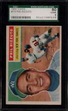1956 TOPPS #113 PHIL RIZZUTO GRAY BACK  EX-MT SGC 6 GR1041