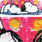 """33W""""x12H"""" NO WAY OUT by TOM EVERHART - SNOOPY CHARLIE BROWN CHOICES of CANVAS"""