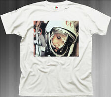 Yuri Gagarin spaceman Cosmonaut Astronaut USSR russian cotton t-shirt TC01365