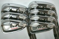 """TaylorMade Tour Burner irons 4-PW with NS Pro 950GH stiff shafts +1.5"""" LONGER"""