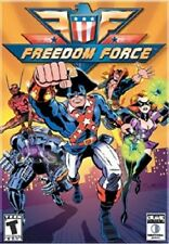 Freedom Force, PC CD-Rom Game.