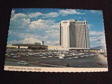 Vintage MGM Grand Hotel Reno Nevada Las Vegas ~ Gambling Poker ~ EXCELLENT!!!