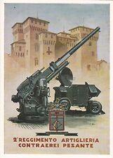 MILITARE - ARTIGLIERIA - 2° Reggimento Artiglieria Contraerei Pesante