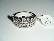 Fragrant Jewels Crown Womens Ring Size 8 (Ref #005)