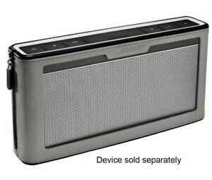 GENUINE Bose Soundlink III Gray Grey Cover / Slip / Storage Case / Box