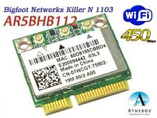 Dell Alienware M14X M18X Bigfoot networks Killer 1103 7WCGT AR5BHB112 WIFI CARD