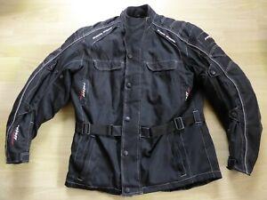 Wie neu! Hochwertige Motorradjacke von Roleff Racewear für Herren, Gr. 2XL