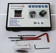 THREAD REPAIR KIT 6 BA SUITS HELICOIL INSERTS ETC FROM CHRONOS