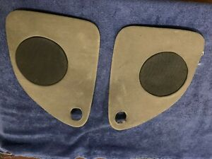1986 - 1994 Classic Saab 900 Convertible Grey Rear Seat Speaker Cover No Light