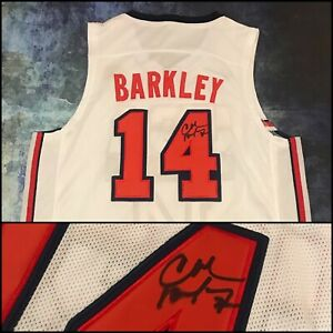 GFA Dream Team '92 Olympics CHARLES BARKLEY Signed Autographed Jersey COA