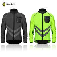 Men's Cycling Jacket Bike Jacket/Windbreaker Quick Dry Green Black Orange Jersey