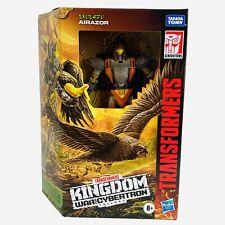 Transformers Kingdom AIRAZOR War For Cybertron Deluxe Class Hasbro Figure