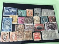 World Some Faults  Vintage stamps Ref 52210