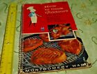 HOW TO COOK OUTDOORS EASY AS 1-2-3 MONTGOMERY WARD 1957 Free Shipping
