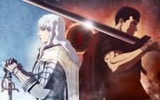 "008 Berserk - Blood Fight Sword Art Print Game 22""x14"" Poster"