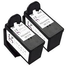 2 Black Ink Cartridge for Lexmark 36 Lex #36 X3650 X4650 X5650 X6650 X6675 Z2420