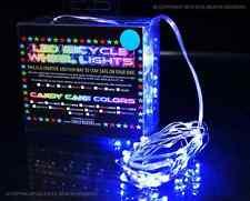 LED bicycle wheel lights BLUE - spoke lights *KIT BOTH WHEELS* LED wheel lights