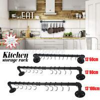 Kitchen Wall Mounted Cabinet Cup Paper Hanger Organizer Storage Shelf Holder
