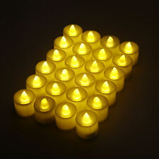 24 PCS Flameless Votive Candles Battery Operated Flickering LED Tea Light Lamp