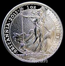 England 2015 Elizabeth Silver .999 1oz (UNC)