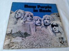 Deep Purple In Rock Muy Buena Lp de vinilo disco Shvl 777 A2/B1 Grammophon no EMI