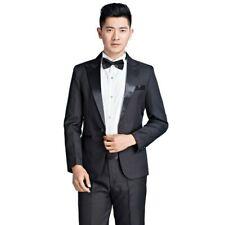 Les derniers Pantalons Coat Designs Costumes d'Ivoire homme Pantalons homme noir Blazer Prom Party Veste Groom mariage Smokings 2piece Costume Costume
