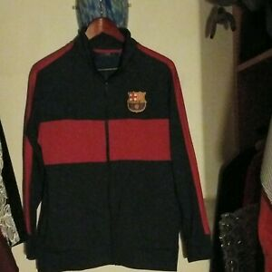 FC Barcelona Futbol Club Jacket Medium FCB F.C.B. Soccer Spain