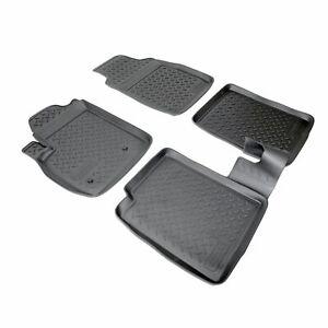 3D TAPPETI TAPPETINI AUTO IN GOMMA SU MISURA per FIAT PANDA 2003-2012