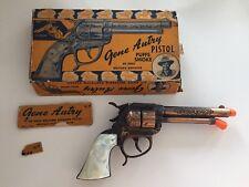 Vintage Gene Autry Toy Pistol Cap with original Box