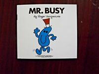 Mr. Busy by Roger Hargreaves (Paperback, 1978)