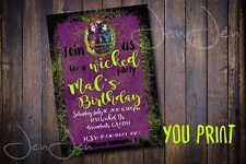 Disney Descendants Party Invitation ( You Print )