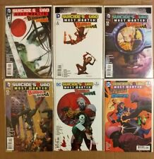Suicide Squad Most Wanted-Deadshot and Katana  #1 2 3 4 6 DC Comics El Diablo #1