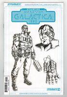 STEAMPUNK BATTLESTAR GALACTICA 1880 #4 SERGIO DAVILA CONCEPT VARIANT COVER  1/10