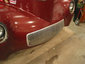 1941 Willys  raceweight grill Durable cast Plastic 1941 /42sedan or Coupe
