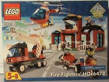 LEGO Town Fire, #6478 Fire Fighters' HQ  New Sealed Set