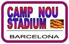 Barcelona Camp Nou  Street Metal Sign