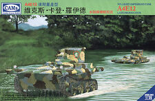 CAMs 1/35 CV-35002 WWII Vickers-Carden-Loyd Light Amphibious Tank A4E12 (Late)