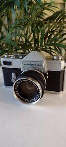 Vintage Mamiya Sekor 35mm Camera with 1:1.8 f55mm Lens Made in Japan