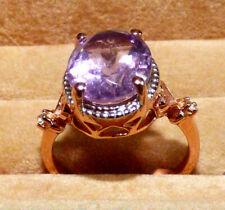 Rose de France Amethyst Ring  4.53ct