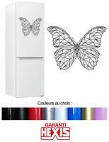 Sticker Autocollant Papillon - Insect -  Pour Frigo Mur Mural - 1OR008