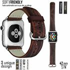 Replacement Accessories Leather Strap Band for Apple Watch iWatch Sport 42mm