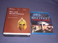 Teaching Co Great Courses  DVDs      WAR and WORLD HISTORY     brand new + BONUS