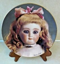 NIB MILDRED SEELEY PLATE THE DOLL COLLECTION FRENCH DOLLS MOHEREAU'S YVETTE