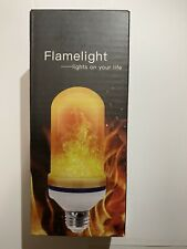 4 Modes LED Flame Effect Simulated Nature Fire Light Bulb E27 5W Decoration Lamp