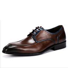 Мужские строгие туфли ретро британский острый Тор из натуральной коровьей кожи, низкий топ жених обувь
