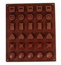 STAMPI IN SILICONE CIOCCOLATO CARAMELLE cool unico forma Maker Jelly Ice Cube Tray Mold