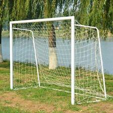 NEW 6 x 4ft Football Soccer Goal Nets 1.8x1.2m for Sports Training Practise